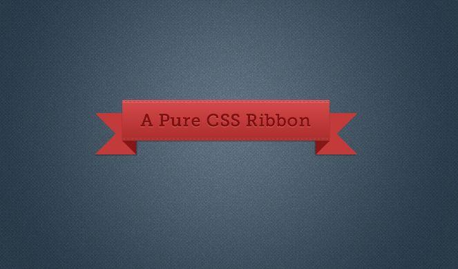 Generador de cintillas CSS
