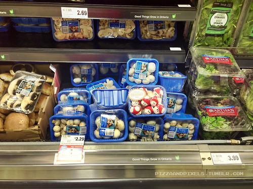 hongos de mario bros en super mercado