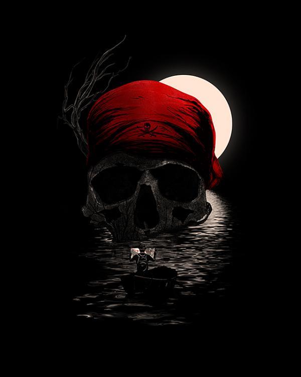 ilustraciones muerte pirate