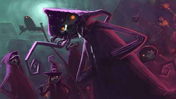 ilustraciones muerte y brujas