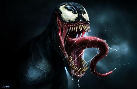 ilustraciones venom