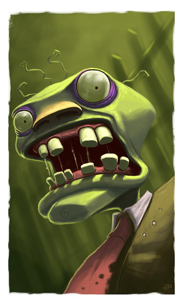 ilustraciones zombiew