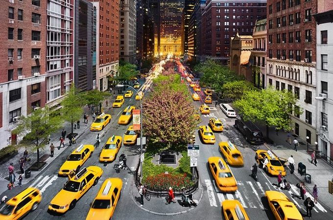 nueva york taxis taxis taxis