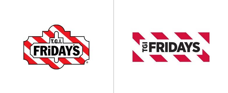 El nuevo logo de TGI Fridays