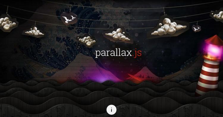 Impresionantes efectos con Parallax JS