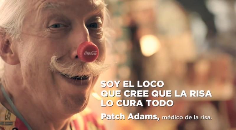 campaña volvámonos locos con Patch Adams