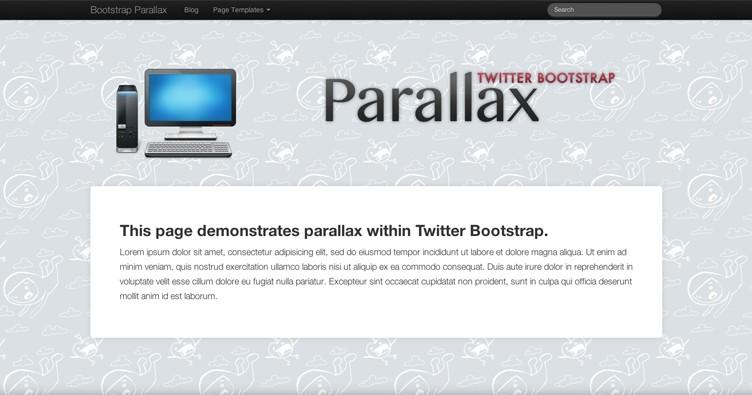 plantilla wordpress parallax gratis