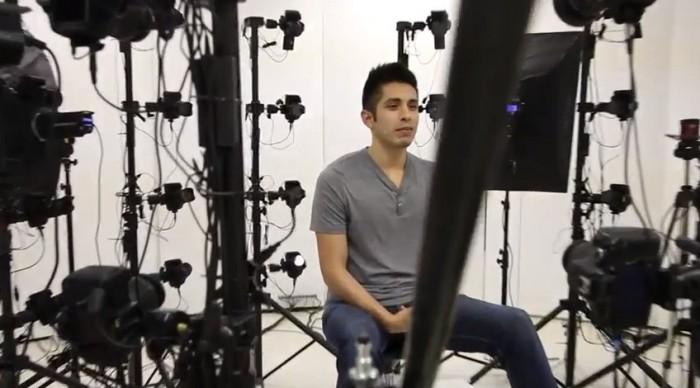 60 cámaras DSLR para crear retratos 3D