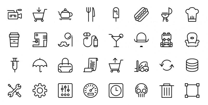 100 Vectores de iconos gratis