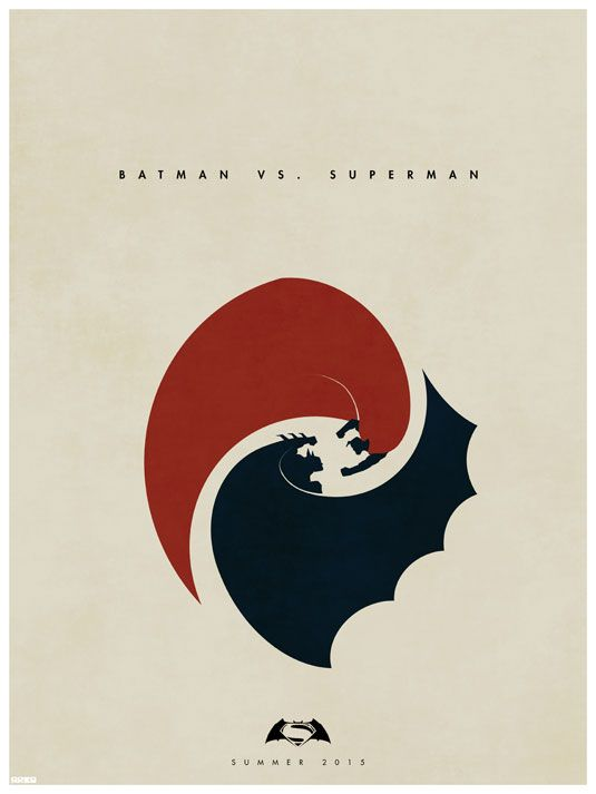 Poster de Batman vs Superman