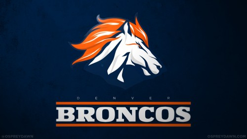logos de la NFL rediseñados, broncos