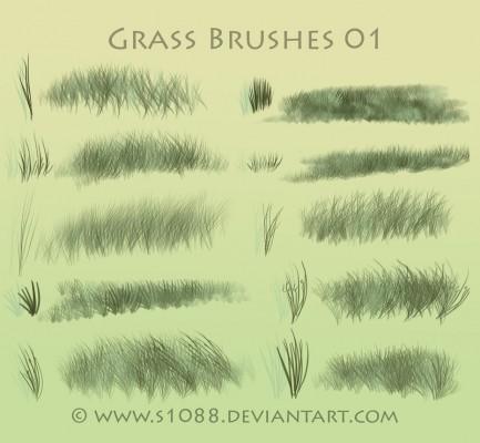 Brushes de cesped