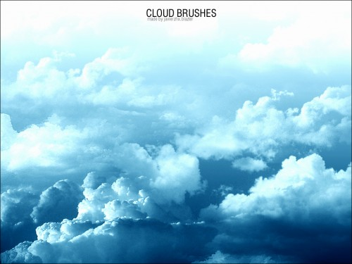 Brushes de nubes