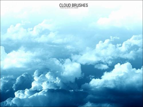 Brushes de nubes