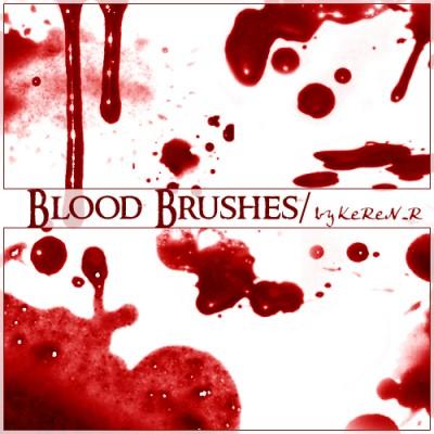 Brushes de sangre