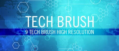 Brushes de tecnología