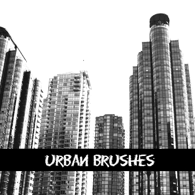 Paquetes de brushes photoshop gratuitos urbanos