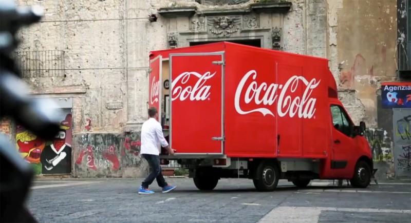 Videos publicidad BTL de Coca Cola