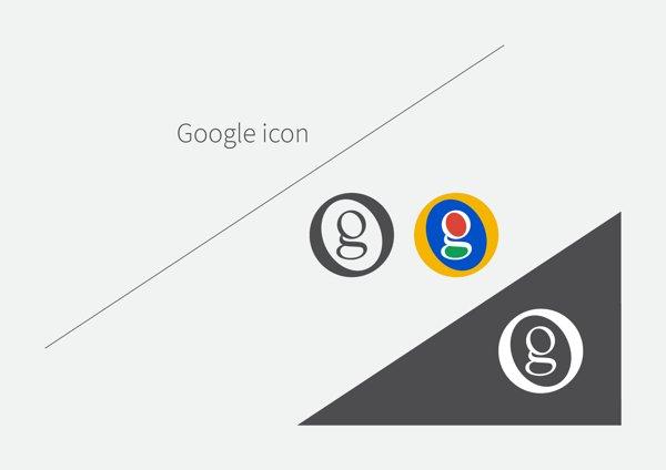 concepto icono google
