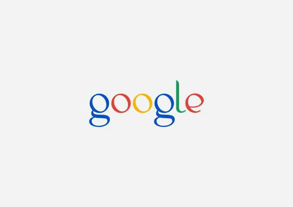 Diseño conceptual para el logo de Google