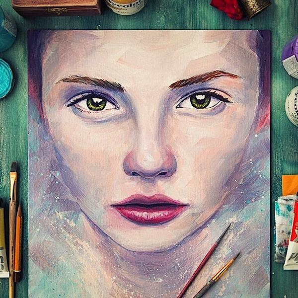 bellísimas pinturas por Creative Mints