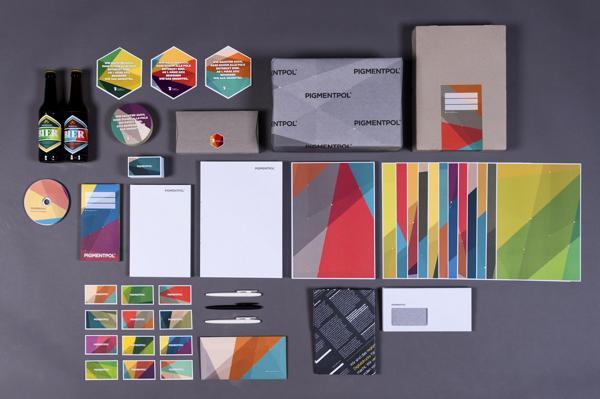 Identidad corporativa de Pigmentol