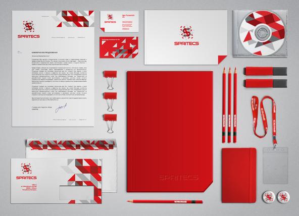 Diseños de identidad de Spritecs