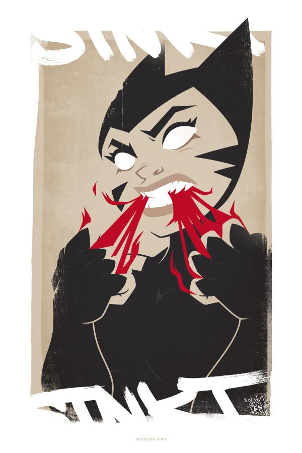 Ilustraciones digitales de personajes Katwoo