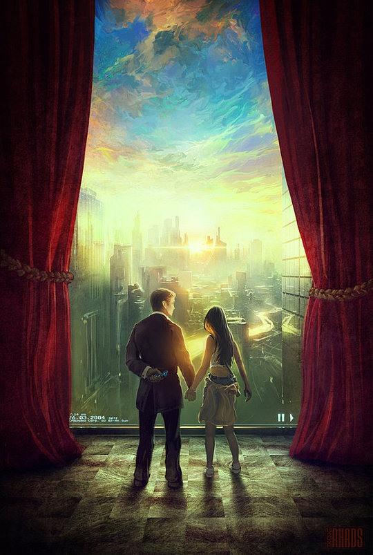 ilustración pareja