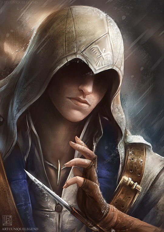ilustraciones assasins creed
