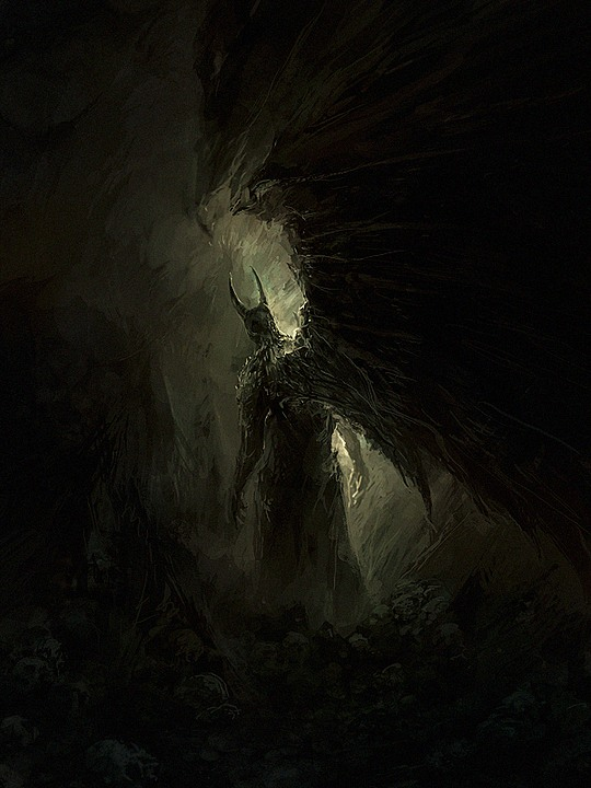 ilustraciones demonio 2