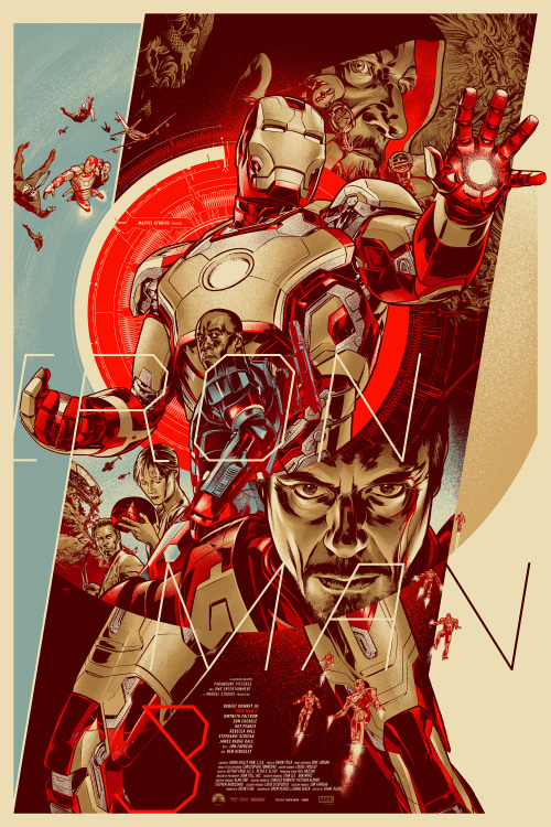 ilustraciones iron man