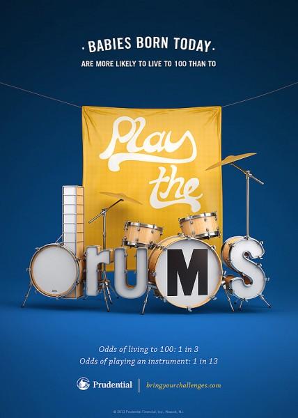 ilustraciones tipograficas drums
