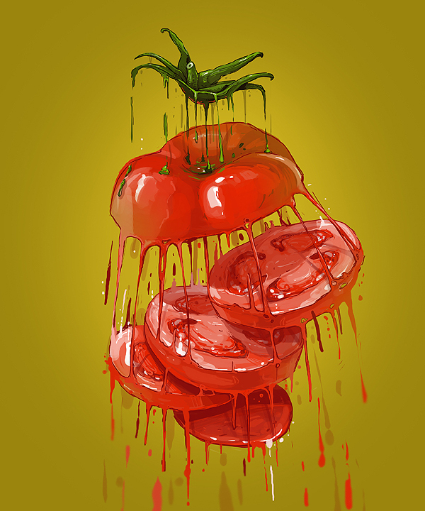 ilustraciones vitamin bomb tomates