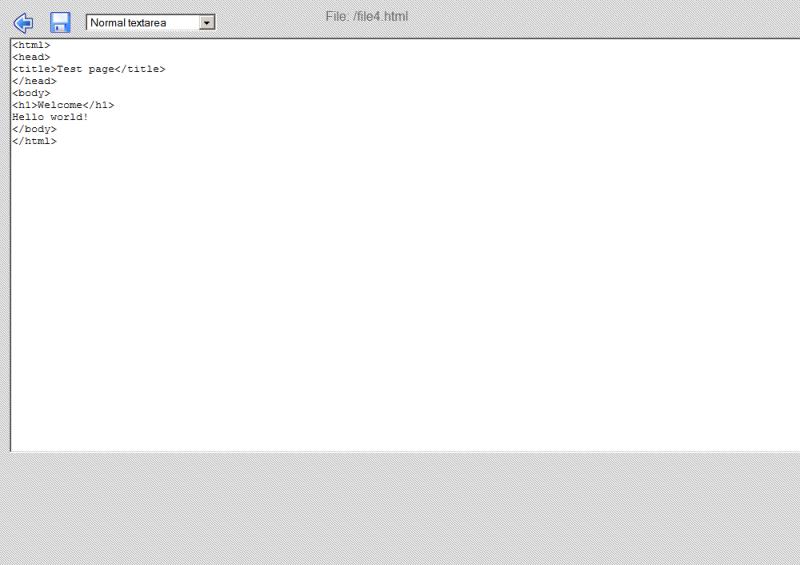 Editor de HTML