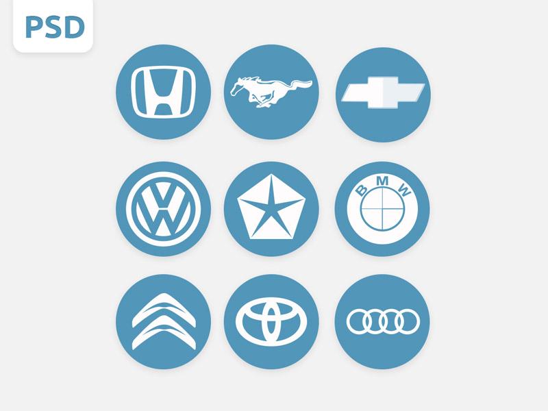 Logos de marcas de autos
