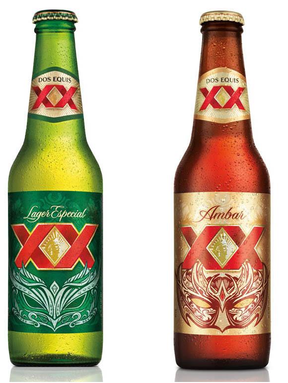 Diseños de botellas XX Lager