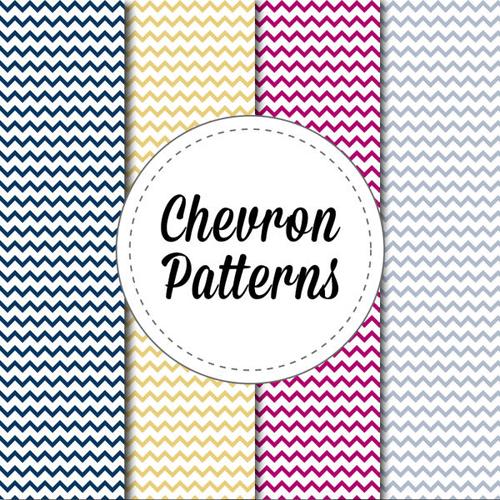 4 patrones chevron