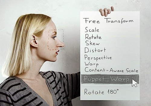 photoshop en la realidad puppet warp