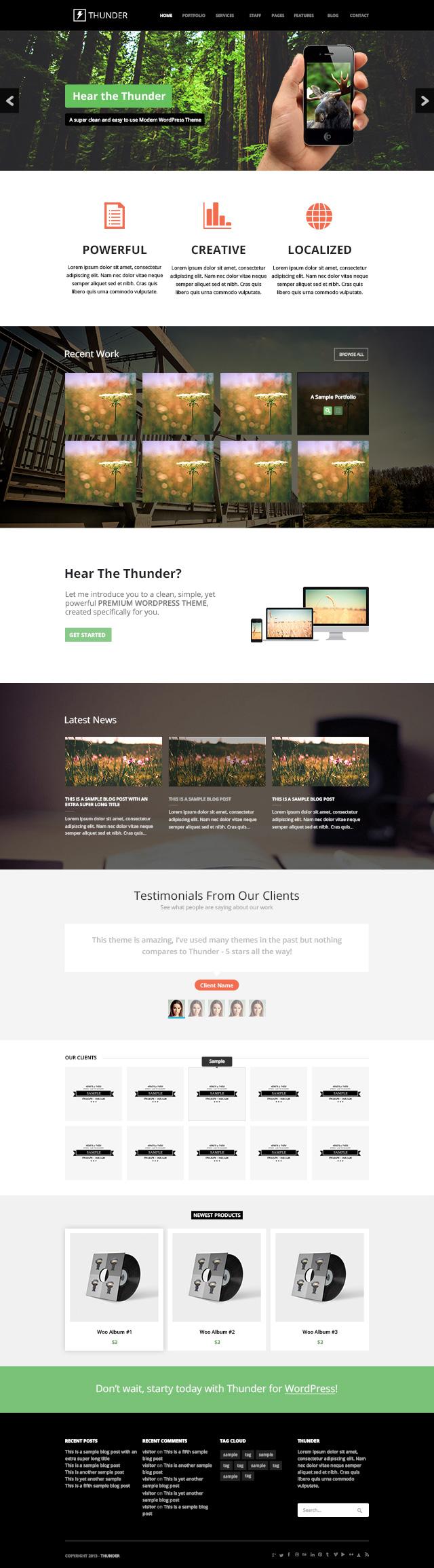 Plantilla PSD para diseño web gratis