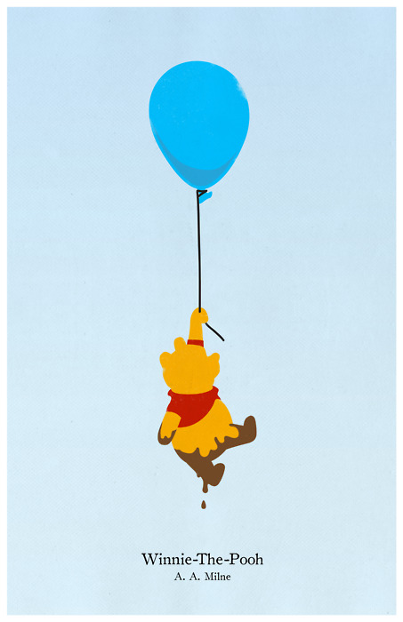 Poster minimalista de Winnie Pooh