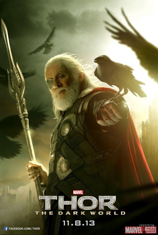 Nuevo poster de la película Thor The Dark World, Odín