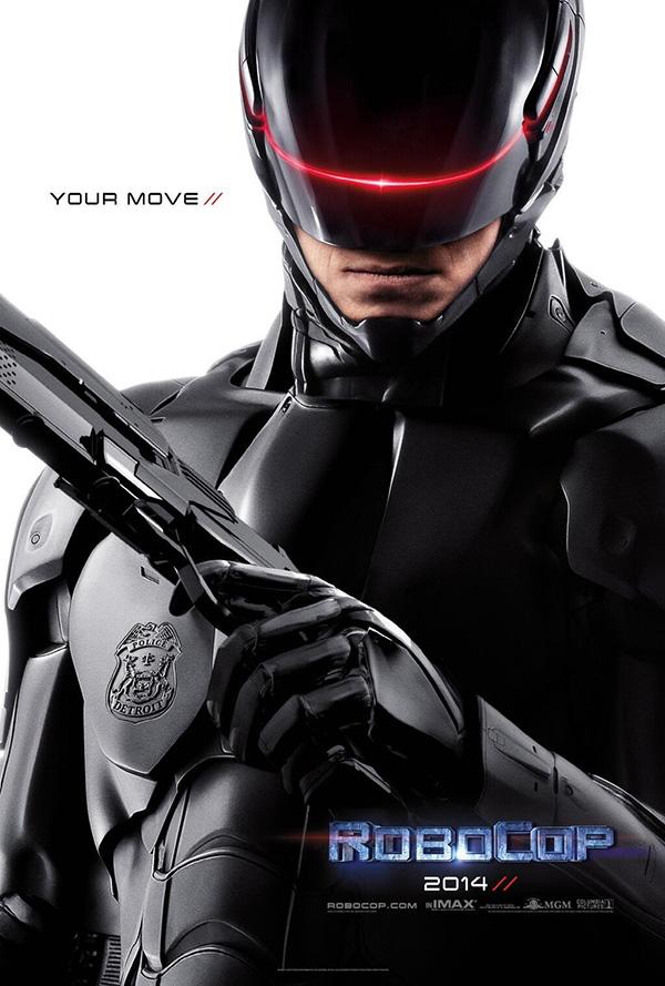 poster oficial de robocop