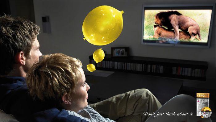 publicidad de condones ceylor gold