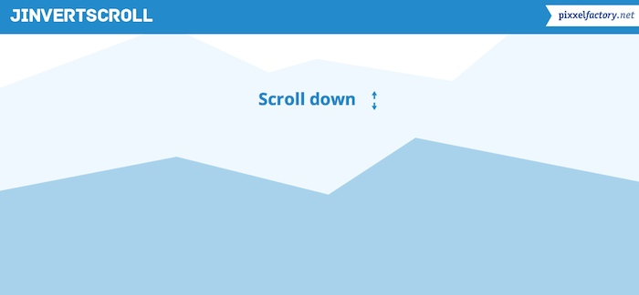 Scroll Horizontal con efecto Parallax
