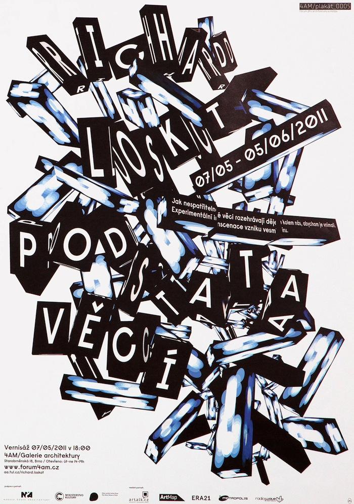 posters tipográficos creativos The Rodina