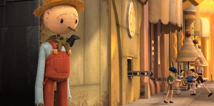 The Scarecrow el corto animado y juego para educar