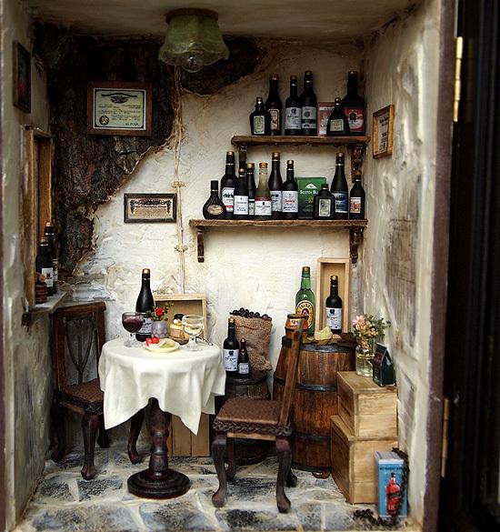 tienda de vinos miniatura 1