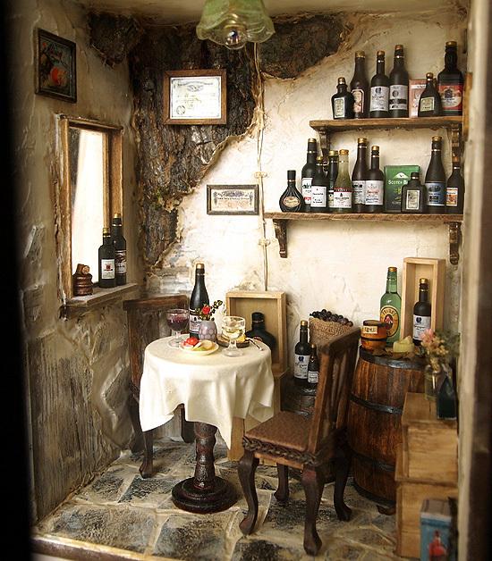 tienda de vinos miniatura 2