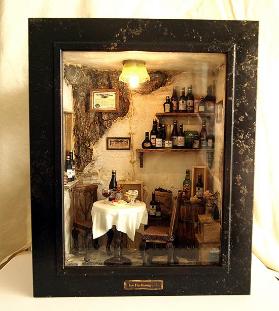 tienda de vinos miniatura 3